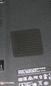 The subwoofer is found on the underside.