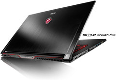 MSI GS73VR Stealth Pro ultra-slim gaming notebook with NVIDIA GeForce GTX 1060 graphics