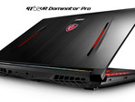 MSI GT62VR Dominator Pro gaming notebook with NVIDIA GeForce GTX 1060 graphics