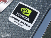 The GeForce GTX 285M is the second fast single chip GPU from Nvidia.