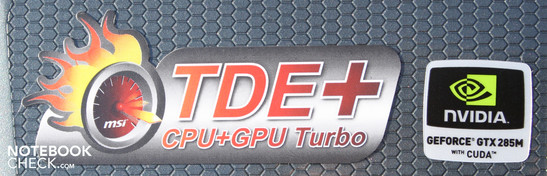 MSI GT660R-i74129BLW7P: The Turbo engine increases the CPU performance only by around five percent, the GPU performance doesn't change despite being slightly overclocked (30 MHz core).