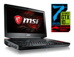 MSI GT83VR Titan SLI launching with mechanical MX Cherry Silver keyboard