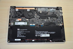 Mi Notebook Air interior view (Source: blog.geekbuying.com)