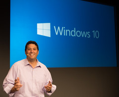 Microsoft Windows 10 unveiled by Terry Myerson