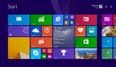Improved Start screen of Microsoft Windows 8.1 Update 1