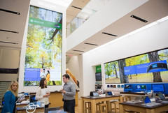 New Microsoft store opens at 677 Fifth Avenue in Manhattan, New York City