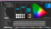 CalMAN ColorChecker with the integrated calibration