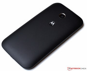 Build quality and sturdiness of the Moto E ...