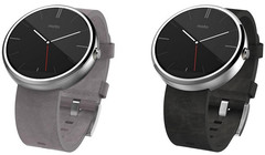 Moto 360 stone leather replaces the gray model available since September 5