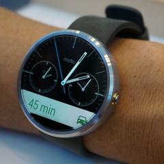 Motorola Moto 360 smartwatch with Android Wear OS