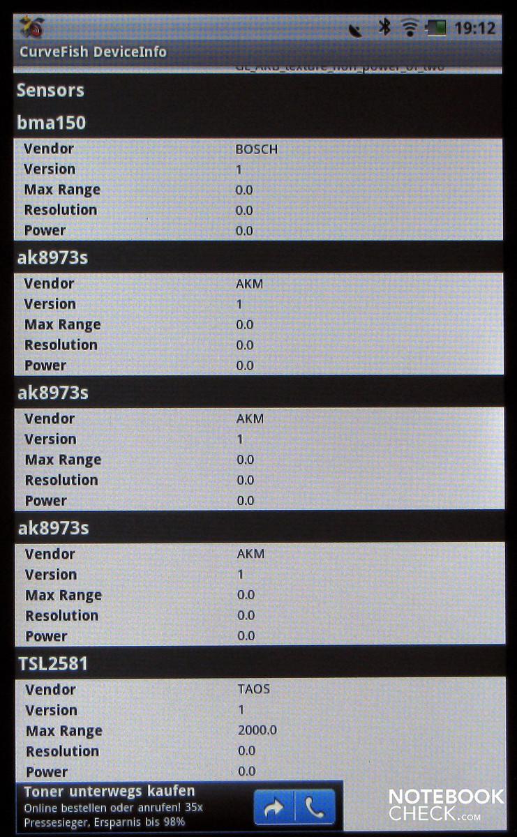Dell streak 7 wifi model Update 3 2
