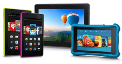 Amazon Fire family of devices, September 2014 refresh, loaded with Fire OS 4 Sangria