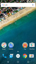 Nexus 5X: Home screen