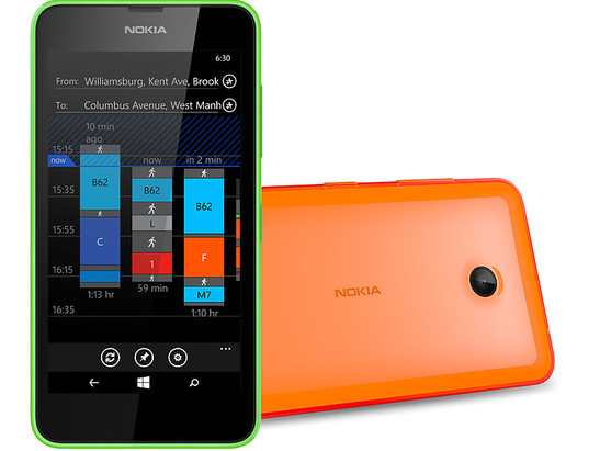 In review: Nokia Lumia 630. Review sample courtesy of Nokia Germany.