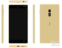 Nokia D1C Android smartphone render, launch date in 2017