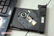The optical drive: DVD Super-Multi.
