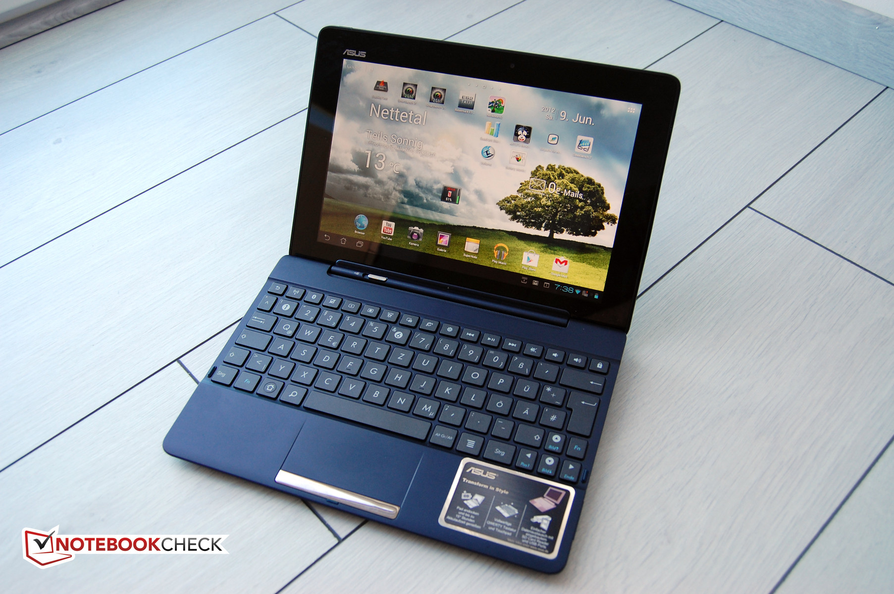 Review Asus Transformer Pad Tf300t Tablet Mid