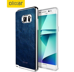 Samsung Galaxy Note 7 with Olixar case installed