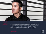 OnePlus 2 to sell for less than $450