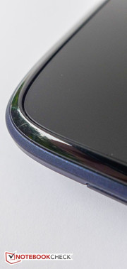 A slim plastic bezel surrounds the display.