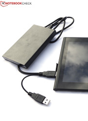 A 2.5-inch hard drive must be charged with additional voltage.