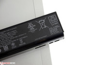 The battery is not able to provide very long run times because of the above-average power consumption.