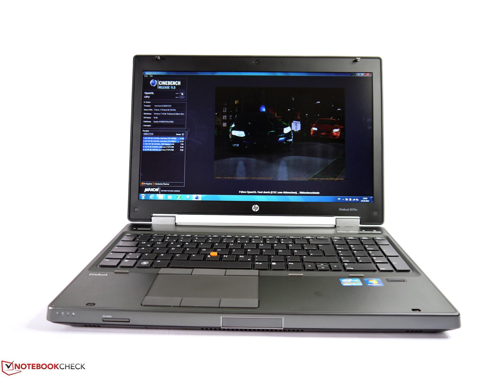 Laptop HP Elitebook 8570w