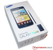 In Review:  Samsung Galaxy Note N7000