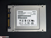 In Review: Toshiba HG5d 256 GB SSD, test sample by courtesy of: Toshiba Germany