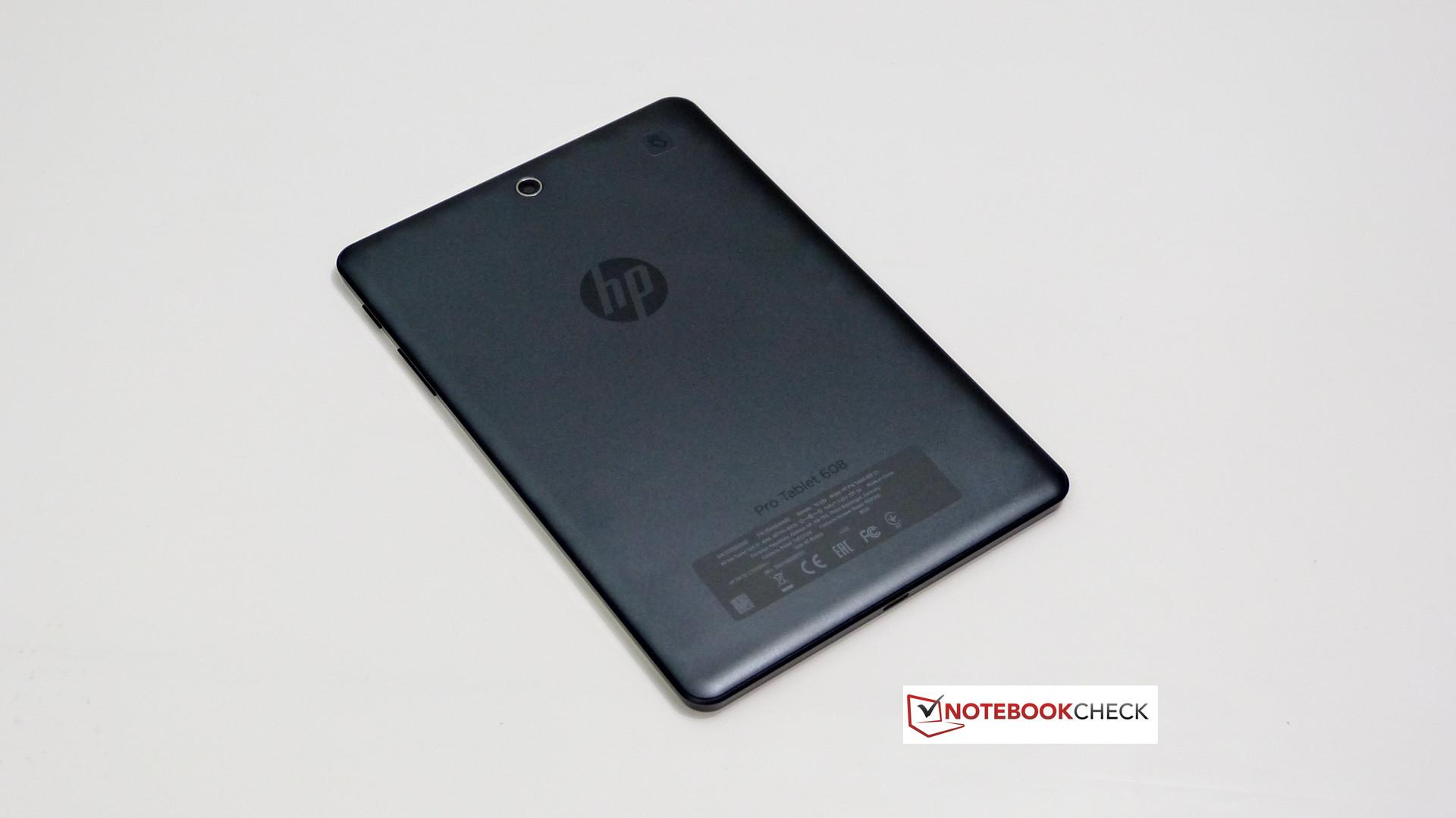 Hp Pro Tablet 608 G1 Review Reviews Lenovo A850 4gb Putih Case Rear