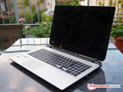 In review: Toshiba Satellite L50-B-182. Test model courtesy of Notebooksbilliger.de