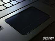 The glowing touchpad is supposed to be one of the highlights. It lights up when you touch it.
