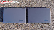 Left: Yoga 2 Pro; Right: Yoga 13