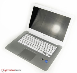 HP Chromebook 14 G1. Test model courtesy of notebooksbilliger