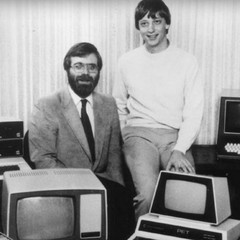 Paul Allen and Bill Gates cofounded Microsoft 40 years ago