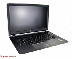 In review: HP Pavilion 17-g013ng. Test model provided by: HP Store.