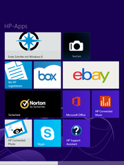 Hewlett Packard includes diverse apps.
