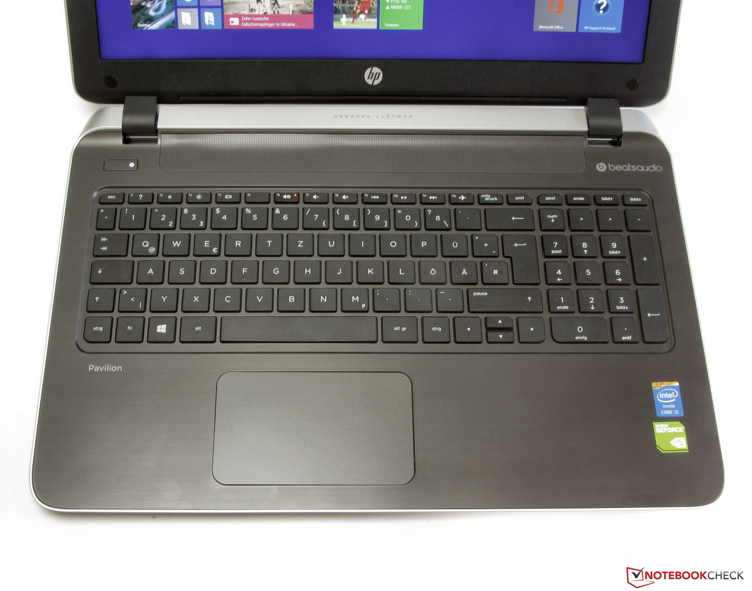 HP Pavilion 15-p008ng Notebook Review - NotebookCheck.net ...