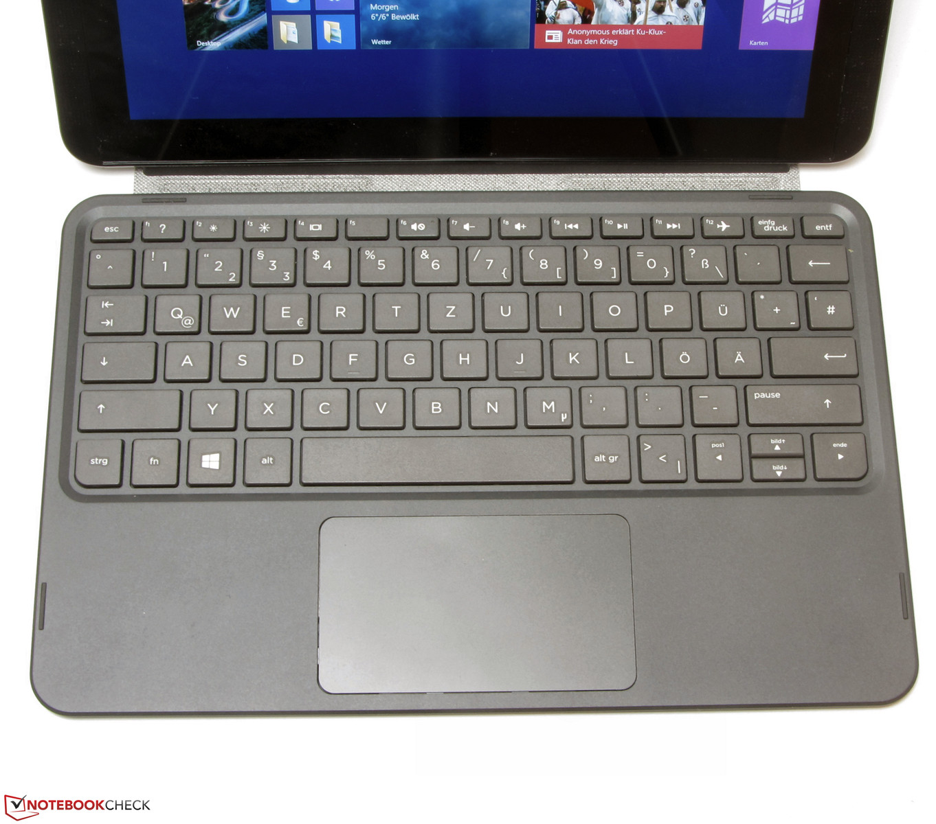 Hp Pavilion 10 K000ng X2 Tablet Review Notebookcheck Net