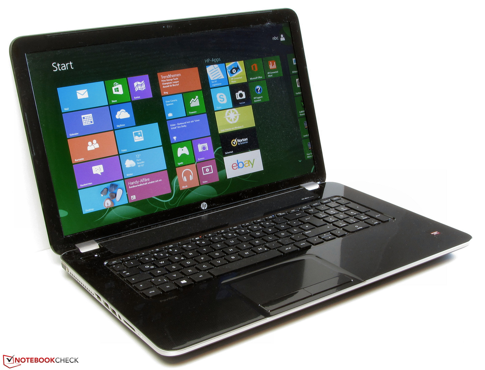 Review HP Pavilion 17 E054sg Notebook