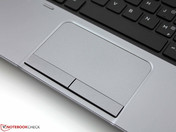 Conventional: Touchpad instead of a Clickpad