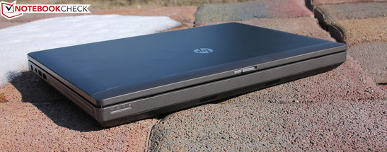 HP ProBook 6475b (C5A55EA): Old-school notebook with an old-school weak display panel (brightness, contrast)