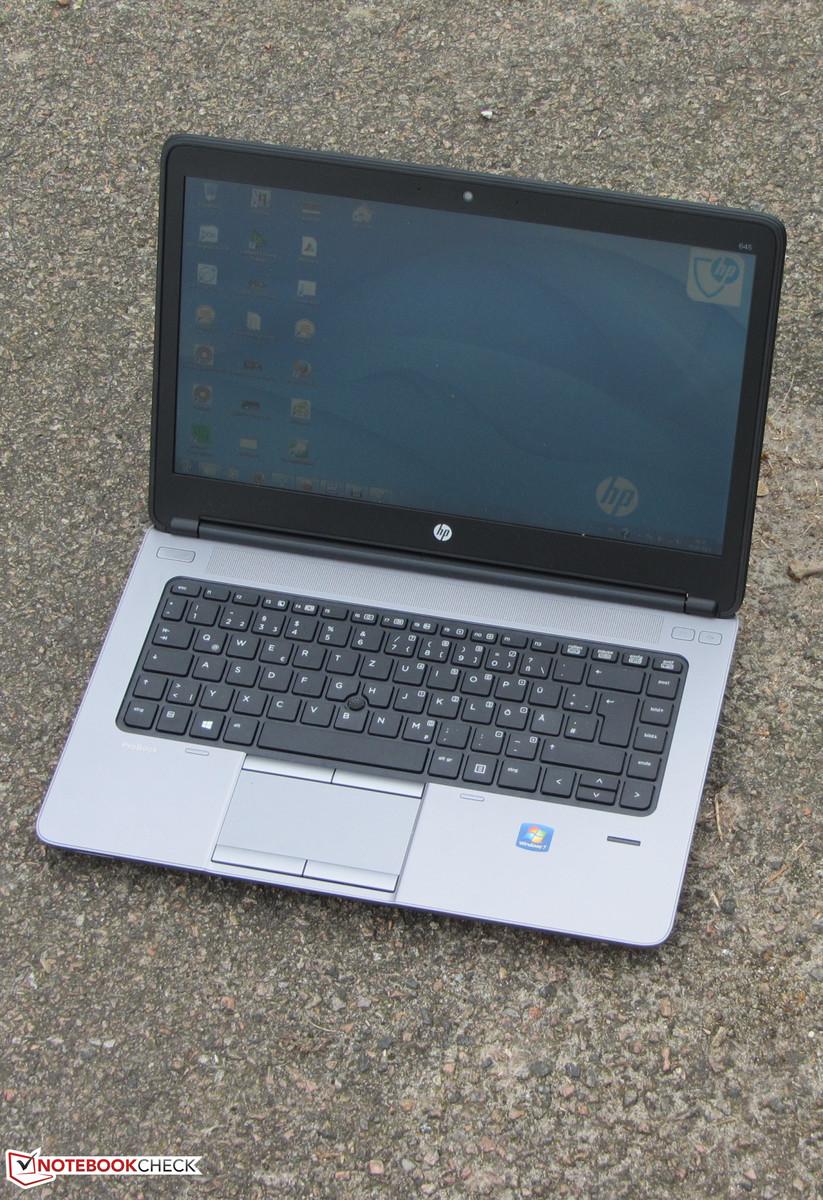 Review Hp Probook 645 G1 Notebook Notebookcheck Net Reviews