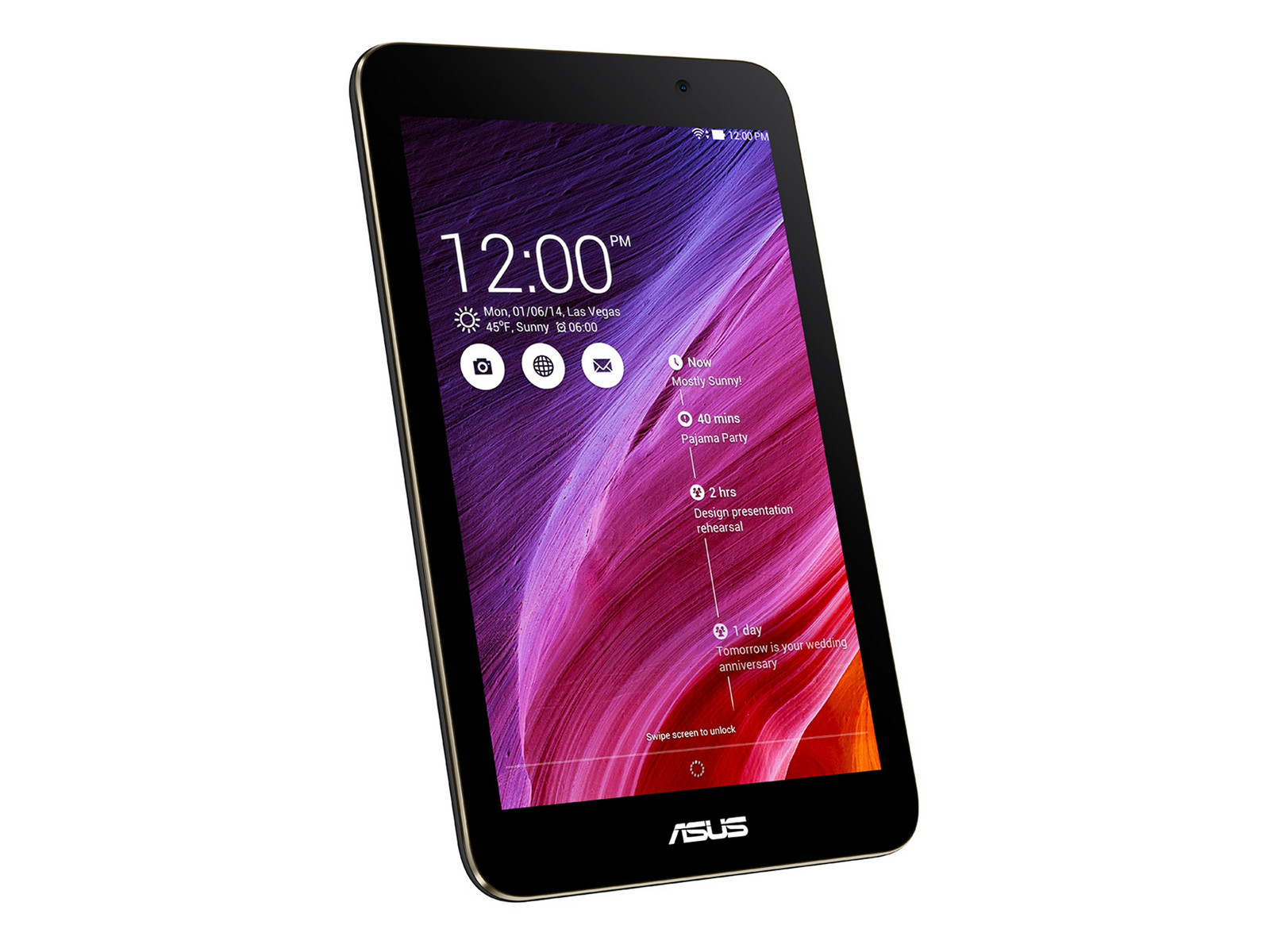 Asus Memo Pad HD 7 ME176C Tablet Review - NotebookCheck.net Reviews