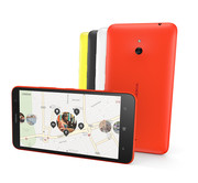 The casing is available in four colors: yellow, black, white, and orange.