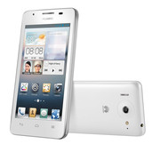 The Ascend G510 is also available with a white casing.