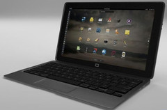 Purism Librem 11 Linux tablet with keyboard dock