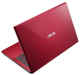 The back side of the lid is glossy (image: Asus).