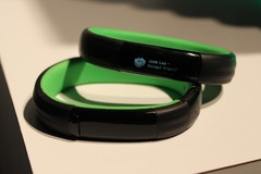 Razer Nabu smartband with Bluetooth LE connectivity