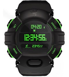 Razer Nabu digital watch with fitness tracking features and social notifications